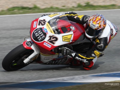 Luthi quickest as 250cc Jerez test ends