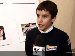 Márquez se lesiona en la segunda sesión del test