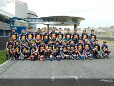Primeiro teste para os pilotos da Rookies Cup em Jerez
