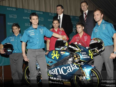 Aspar line-up unveiled in Madrid presentation