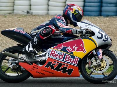 Red Bull MotoGP Rookies 2008 get testing underway