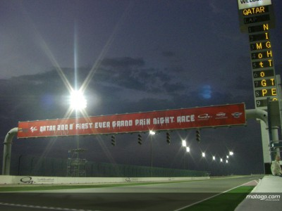 Lights switched on in Qatar as opening night test begins