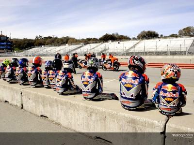 La Red Bull AMA U.S. Rookies Cup finaliza el primer test