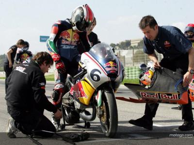 Los pilotos de la Red Bull MotoGP Rookies completan la semana de pruebas