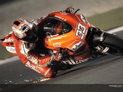 Melandri puts testing performances down to race pace focus