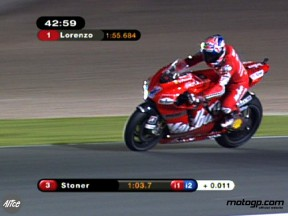 Stoner lends familiar air to historic MotoGP opening night in Qatar
