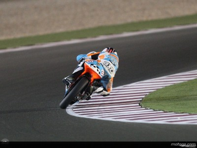 Smith glänzt auch im zweiten freien 125 ccm Training