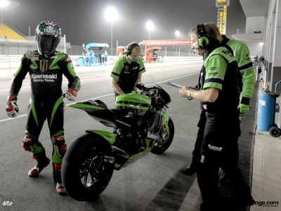 Night riding peculiarities explained by Kawasakis Fanali