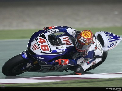 Lorenzo takes pole for MotoGP debut in Qatar