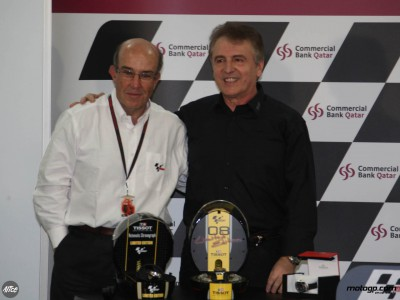 Tissot lanza su colección 2008 de relojes MotoGP en Losail