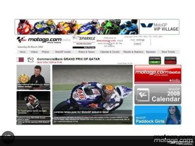 Il nuovo sito motogp.com beta è ora online