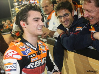Pedrosa comments on great start on new blog