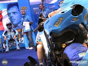 Capirossi fiducioso dopo il debutto difficile con la Suzuki