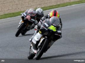 Corsi takes win and championship lead in 125cc