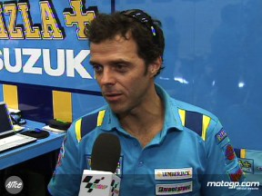 Capirossi shows guile for fifth place finish