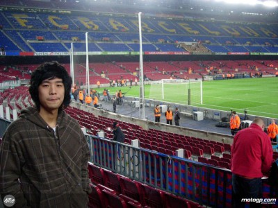 Wilairot in visita al Camp Nou