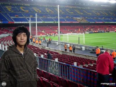 Wilairot in visita al Camp Nou