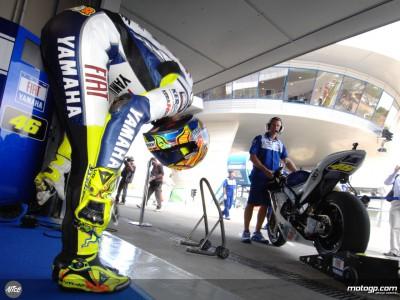 Rossi quer pôr fim a sequência de maus resultados no palco da última vitória