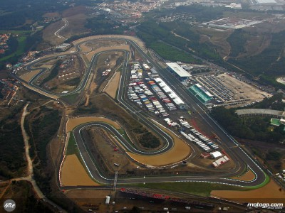 Wind and rain greets MotoGP in Portugal
