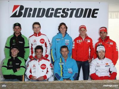 Bridgestone riders attend Portuguese pre-event