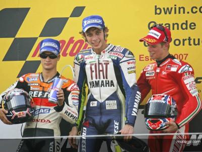 Estoril 2007: Revivimos el emocionante duelo Rossi-Pedrosa