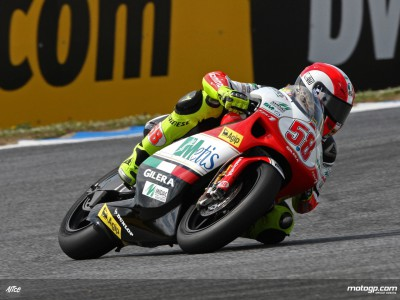 Simoncelli confirms maiden 250cc pole position