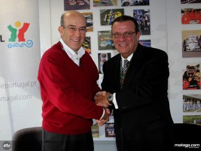 MotoGP trifft mit Estoril Vereinbarung bis 2011