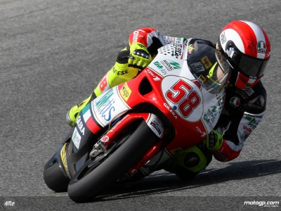 Provisional poleman Simoncelli fastest in final free practice