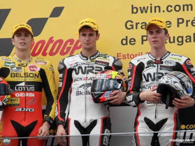 Estoril 125cc podium riders give verdict on race