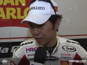 Tough weekend for Nakano at round three