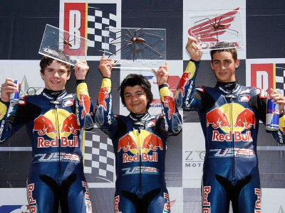 Solis wins first-ever Red Bull AMA U.S. Rookies Cup race