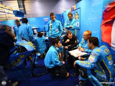 El Rizla Suzuki pone la mirada en el podio de Shanghai