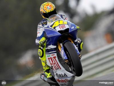 Rossi aspira a lograr su primera victoria con Bridgestone en Shanghai