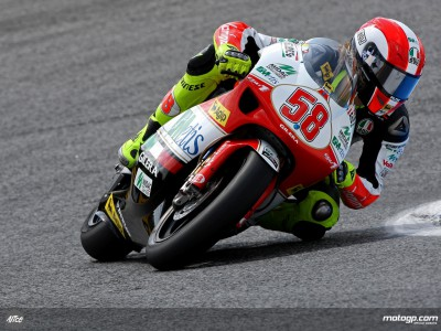 Simoncelli starts strong in 250cc category