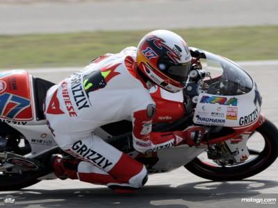 Bradl se sitúa en la pole position provisional de 125cc