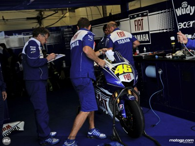 Rossi satisfecho por su actuación y preocupado por el estado de Lorenzo