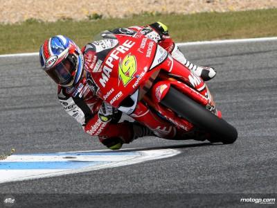 Bautista diktiert in China das Tempo in der 250ccm Klasse