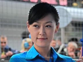 中国GPパドックガール
