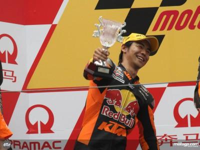 青山博一、通算19度目の表彰台獲得