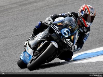 Aprilia prueba el control de tracción para un posible retorno a MotoGP
