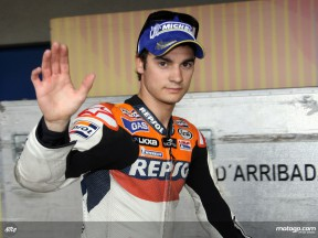 Puig quietly confident after Pedrosa´s first 2008 pole