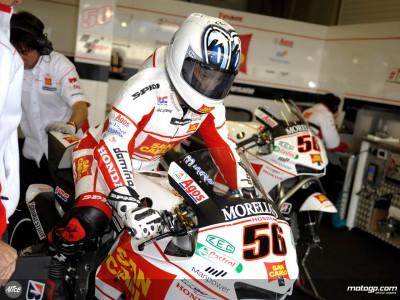 Tough qualifying session for San Carlo Honda Gresini
