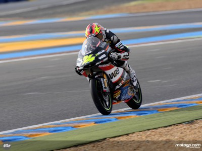 Corsi warms up fastest in 125cc session
