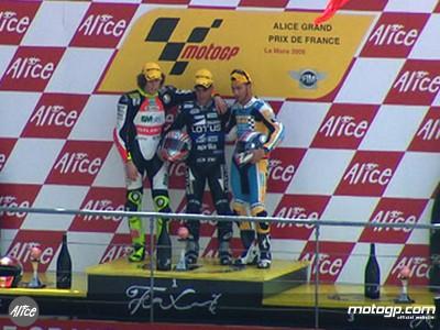 Debon gewinnt nach Reifenpoker in Le Mans ersten 250ccm Grand Prix