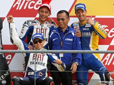 MotoGP podium finishers give thoughts on rostrum performances