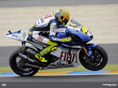 Rossi continues to shine in post-race French testing