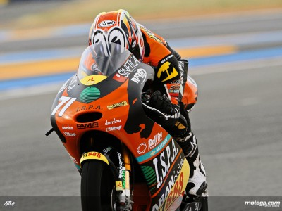 Koyama and De Rosa test new KTM chassis