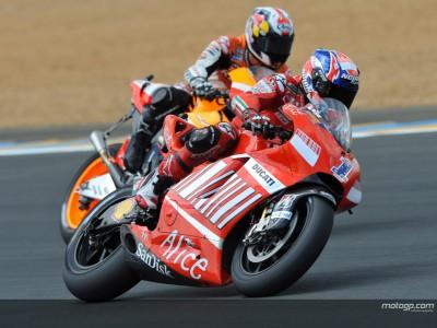 Stoner confía en triunfar en casa de Ducati