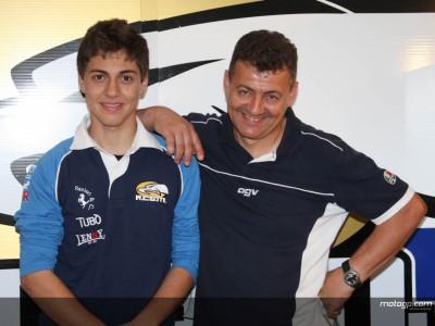 Vitali, orgulloso ante el debut de su hijo Luca en Mugello