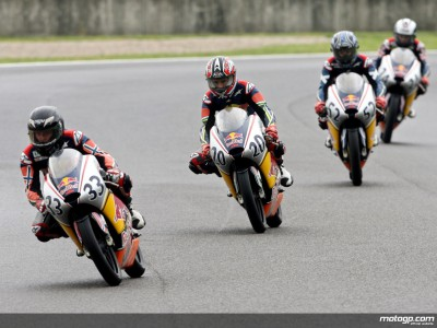 Sebestyén on pole for Red Bull MotoGP Rookies Cup race